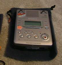 Sony Mz-B50 Minidisc Business Recorder Player Decks Works Great Buy It Now Bin