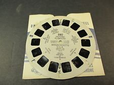Sawyer's Viewmaster Reel, 1948 Historic Plymouth Massachusetts USA Harlow House