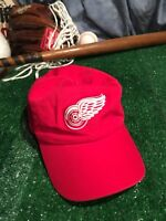 NHL New Era Detroit Red Wings Adjustable Hat Cap H8