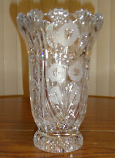 Avitra Crystal Rose Garden Vase 9 Tall – Brand New