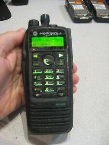 MOTOROLA XPR6550 UHF 450-512 MHz 4W 1000 CH MOTOTRBO Radio AAH55TDH9LA1AN