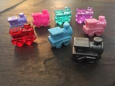 8 MEXICAN TRAIN ENGINE DOMINO GAME MARKERS - TICKET TO RIDE -  FREE SHIPPING