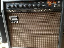 VINTAGE ROLAND BOLT-60 VALVE / TRANSISTOR AMPLIFIER JAPAN MADE RARE