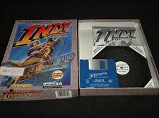 Indiana Jones and the Fate of Atlantis - rare, boxed and complete Atari ST game