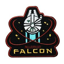 "Retro Star Wars ""Millennium Falcon"" Iron-On Patch DIY Fan Apparel Craft Applique"