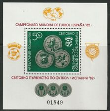 More details for bulgaria 27 march 1981 football world cup spain '82 miniature sheet mnh