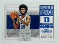 2018-19 Panini Contenders Game Day Ticket Marvin Bagley III Rookie RC #3, Kings