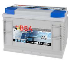 BSA AGM Batterie 120AH Solarbatterie Versorgungsbatterie AGM GEL Batterie 100AH