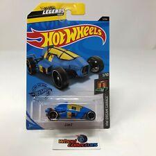 2 Jet Z #1 * BLUE * 2020 Hot Wheels Case G * G12