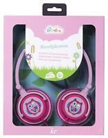 MY DOODLES FUN NOVELTY CHILDRENS VOLUME LIMITING HEADPHONES - PINK OWL - IPAD