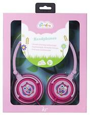 MY DOODLES FUN NOVELTY CHILDRENS VOLUME LIMITING HEADPHONES - PINK OWL - IPAD
