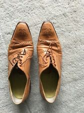 Oliver Sweeney Tan Leather Lace Up Brogues