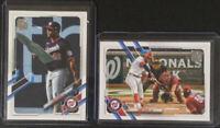 Juan Soto Photo Variation + Base #330 Topps Baseball 2021 Series 1