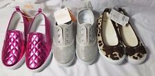 Gymboree Lot of 3 pairs of Girls shoes sizes 2 NWT