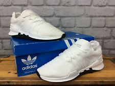ADIDAS LADIES UK 6 EU 39 1/3 WHITE BLUE TINT ORIGINAL EQT RACING ADV TRAINERS