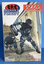 "America's Finest SWAT Subdued Urban Camo 1/6 scale 21st century NIB 12"" Figure"