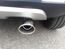 Chrome Exhaust Tailpipe (40mm-52mm) en acier inoxydable (CT1A) M17/5