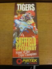 16/03/2003 Speedway Programme: Sheffield v Stoke [Easy Rider Cup] (results noted