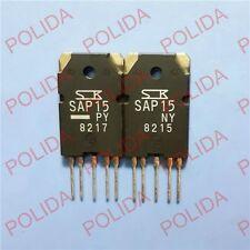 1pair OR 2PCS audio transistor SANKEN TO-3PL-5 SAP15NY/SAP15PY SAP15N/SAP15P