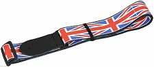 Colourful UK UNION JACK  Flag smooth Acoustic Electric Bass guitar STRAP UK Kids