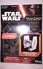 Metal Earth TIE Fighter Special Force Star Wars EP7 Authentic 3D Model Kit - NEW