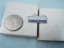 SILJALINE  M/S SYMPHONY BOAT PIN
