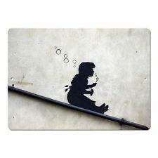 "Banksy Art Bubble Girl Mini 5"" x 7"" Metal Sign"