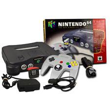 N64 - Nintendo 64 Console Noir+Contrôleur+Expansion Pak + câble