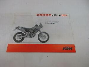 Ktm 640 Adventure 2005 Catálogo de Piezas de Repuesto Manual