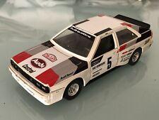 Jouet Ancien Burago Audi Quattro Rallye Monte Carlo 1981 1/24