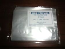 "3"" x 4"" Uline Plastic 1.5 Mil Clear Poly bags heat seal able Flat Lot 200 Pouch"