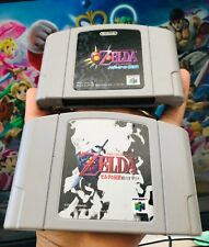 The Legend Of Zelda Ocarina Of Time + Majora's Mask Nintendo 64 N64 Japan Import