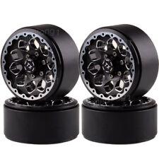 """4PCS 1.9"""" Wheel Rim Beadlocks RC Rock Crawler Axial SCX10 D90 1/10 Aluminum 1065"""