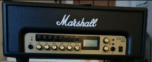Marshall CODE 100W Guitar Amp Head Black with switch pedal