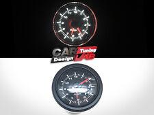 52mm Clock Time Car Auto/Truck Gauge Meter White LED / Clear Lens 12V