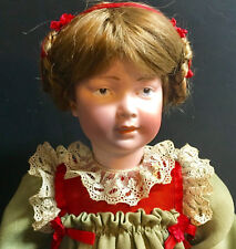 Rare Art Character Doll (from Theriault's) Closed-Mouth Marseille Antique German