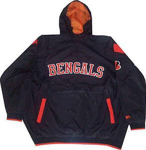 Cincinnati Bengals Mens Windbreaker Jacket Big & Tall Sizes