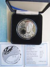 Finland 10 Euro 2006 Snellman Silver PROOF Box + COA !!!