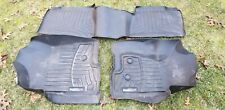 WeatherTech Floor Liners Ford F-150 Black Front Left, Right and Rear 01868/9