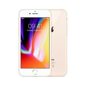 Apple iPhone 8 64GB Gold 4G Refurbished Unlocked A1863 (CDMA + GSM) Smartphone