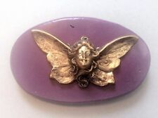 Fairy with wings mold flexible Silicone mold (purple mold)