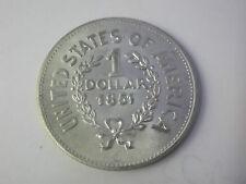 MONETA UNITED STATES OF AMERICA 1 DOLLAR 1851 RIPRODUZIONE (8)