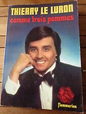 COMME TROIS POMMES par Thierry LE LURON / humour