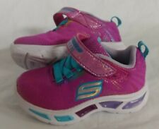 Skechers S Lights Litebeams Toddler Light Up Shoes - NEW Size 5C