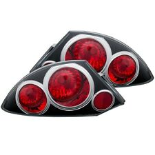 Anzo Tail Lights Black Set For 00-05 Mitsubishi Eclipse #221081