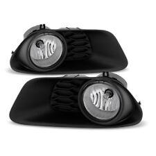 2011-2016 Dodge Grand Caravan Fog Lights Pair Lamp w/Switch/Harness/Relay/Wiring