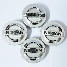 4 Wheel Center Hub Caps Hubcap for Nissan Altima Maxima Murano 350Z Sentra 55mm
