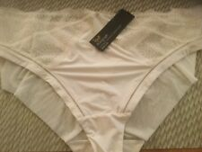 108b2a4a0e Marks   Spencer M s Autograph Rosie Ivory Lace Brazilian Kickers Panties ...