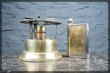 Vintage French Pigeon No.2 Camping Stove / Meths Burner with Fuel Bottle