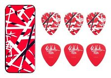 Eddie Van Halen Guitar Picks EVH Frankenstein Max Grip Pick Tin Collectible